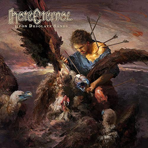 Album HATE ETERNAL Upon Desolate Sands (2018)
